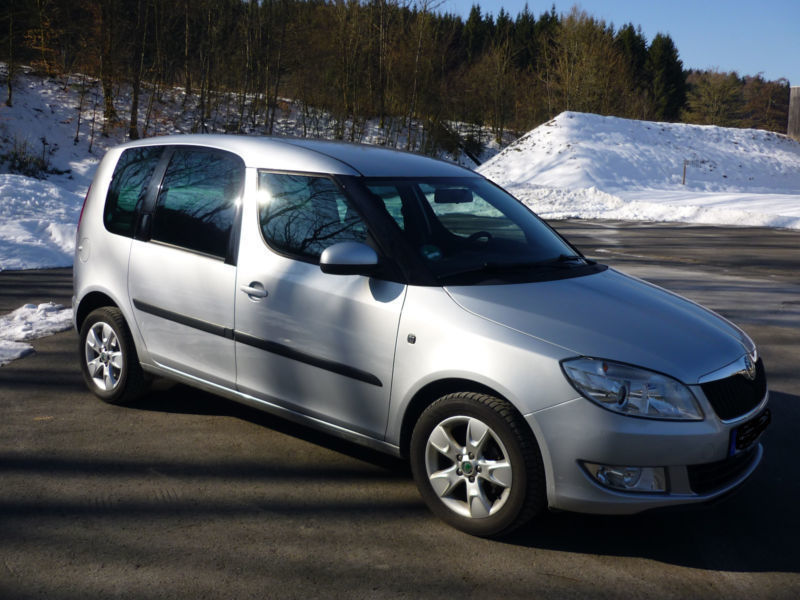 verkauft skoda roomster 1 2 tsi gebraucht 2010 km in neroth. Black Bedroom Furniture Sets. Home Design Ideas