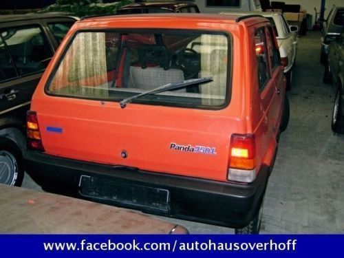 verkauft fiat panda 750 l plus gebraucht 1989 km in aschendorf stadt. Black Bedroom Furniture Sets. Home Design Ideas