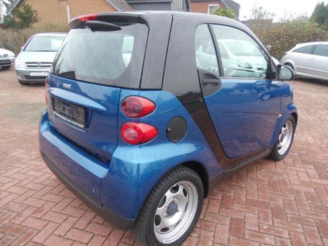 verkauft smart fortwo coup fortwo pure gebraucht 2008 km in neum nster. Black Bedroom Furniture Sets. Home Design Ideas