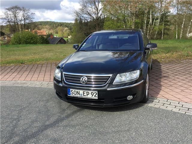 verkauft vw phaeton 5 0 v10 tdi 4motio gebraucht 2005 km in neustadt bei coburg. Black Bedroom Furniture Sets. Home Design Ideas