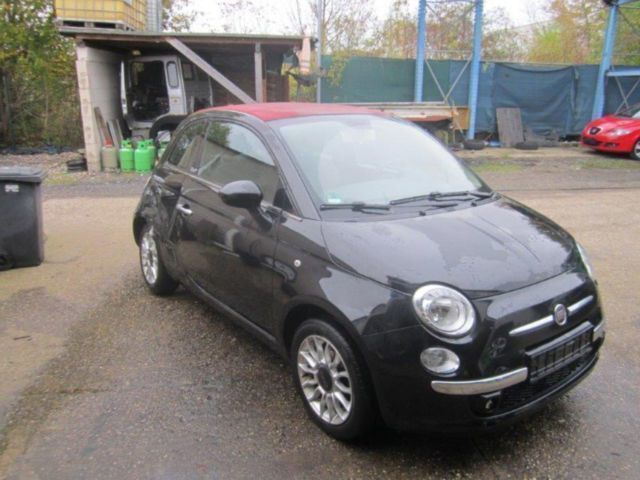 verkauft fiat 500c 500 cabrio lounge gebraucht 2012 km in kerpen. Black Bedroom Furniture Sets. Home Design Ideas