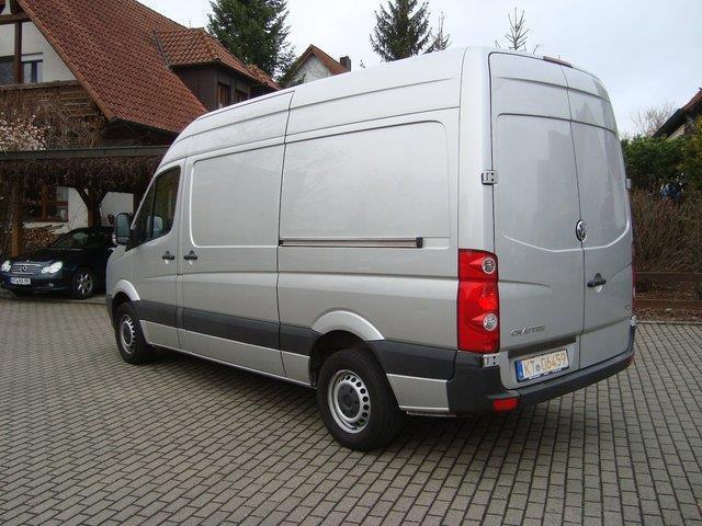 verkauft vw crafter 35 mittlerer radst gebraucht 2012 km in volkach. Black Bedroom Furniture Sets. Home Design Ideas