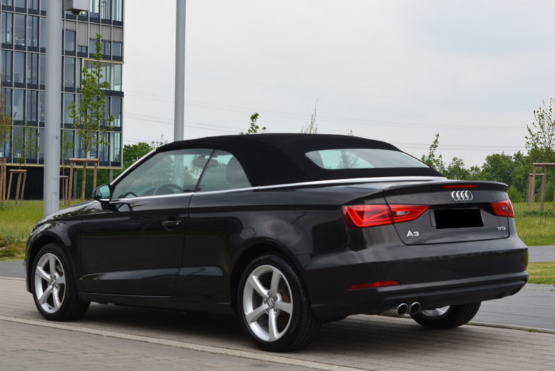 verkauft audi a3 cabriolet 1 4 tfsi am gebraucht 2014 km in essen. Black Bedroom Furniture Sets. Home Design Ideas