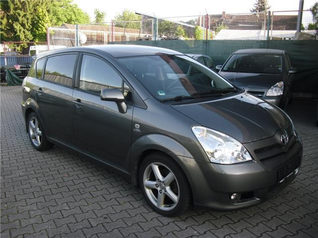 gebraucht 2 2 d cat sol toyota corolla verso 2006 km in bruchsal. Black Bedroom Furniture Sets. Home Design Ideas