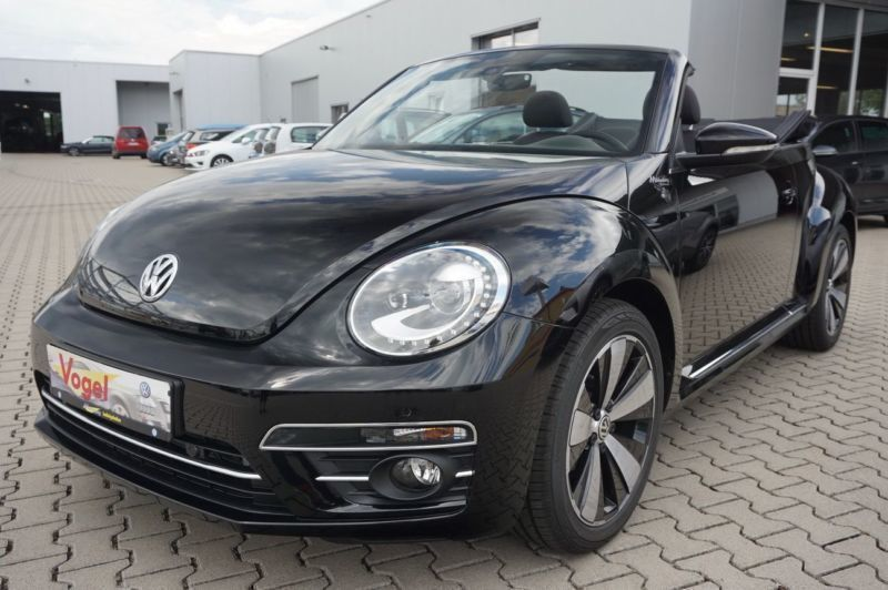 verkauft vw beetle cabriolet 1 2 tsi s gebraucht 2017 km in ladenburg. Black Bedroom Furniture Sets. Home Design Ideas