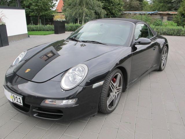 verkauft porsche 911 carrera 4s cabrio gebraucht 2008 km in neuenkirchen v rden. Black Bedroom Furniture Sets. Home Design Ideas