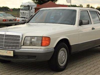 gebraucht Mercedes 380 SEL nur 39.800KM Scheckheft gepflegt 2.Hd