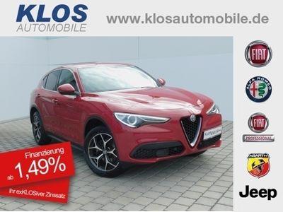 gebraucht Alfa Romeo Stelvio SUPER 2.0 AT8 Q4 VELOCE NAVI 369€mtl.