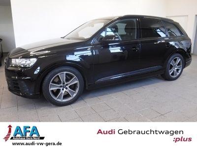 gebraucht Audi SQ7 4,0 TDI quattro tiptronic Navi+*Virt.CP*BOSE*Opt.Schwarz*20Zoll