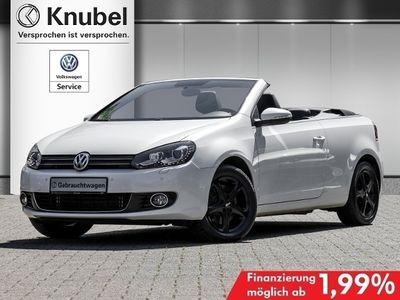 gebraucht VW Golf Cabriolet VI Cabrio 2.0 TDI Xenon Navi Leder Alu GRA