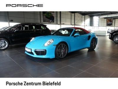 gebraucht Porsche 991 Turbo Cabrio Leder LED Xenon Navi AD Dyn. Kurvenli