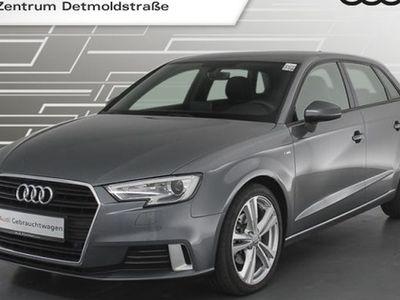 gebraucht Audi A3 Sportback 2.0 TDI S line Virtual Teilleder Navi Xenon 18Zoll PDCplus 6-Gang