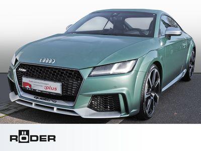 gebraucht Audi TT RS Coupe 2.5 TFSI quattro tiptronic B&O Matrix LED Keramikbremse Vmax 280km/h Navi Leder