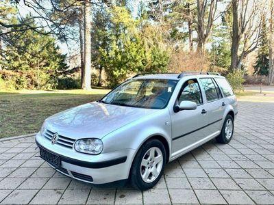 gebraucht VW Golf IV Variant Klima Alu