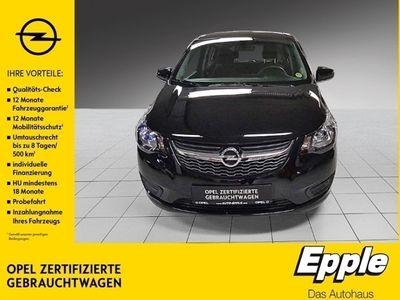 gebraucht Opel Karl Edition 1.0 Multif.Lenkrad RDC Klima SHZ Temp PDC Soundsystem ESP Seitenairb. BC