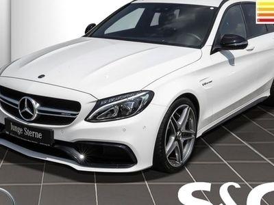 gebraucht Mercedes C63 AMG AMG T Burmester/KeylessGo/Navi/LED/Parklenk