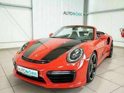 gebraucht Porsche 991 991 / Turbo Cabriolet LED+Kamera+PCM