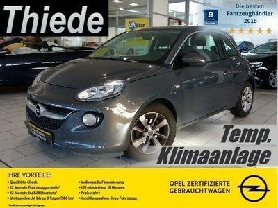 gebraucht Opel Adam 1.2 JAM KLIMA/TEMP./CD/ALU/USB