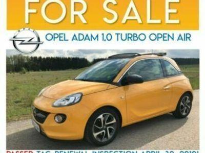 used Opel Adam 1.0 Start/Stop Open Air! Excellent!