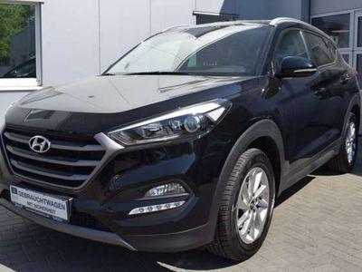 gebraucht Hyundai Tucson 1.7 CRDi Intro Edition Navi Totwinkel SHZ