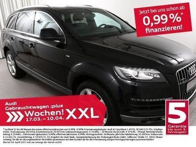 gebraucht Audi Q7 3.0TDi S line/AHK/ACC/7Sitze/2xKamera (Navi Xenon