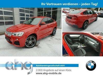 gebraucht BMW X4 xDrive35d AT M Sportpaket Navi Prof. Head-Up