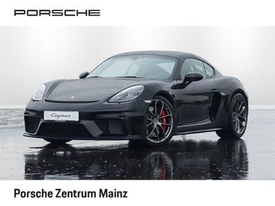 gebraucht Porsche 718 Cayman GT4 Clubsportpaket Vollschalensitze