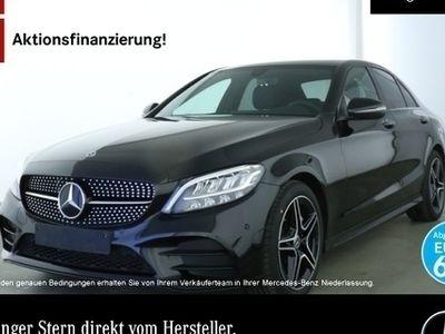 gebraucht Mercedes C200 d AMG LED Night Kamera PTS Sitzh Sitzkomfort