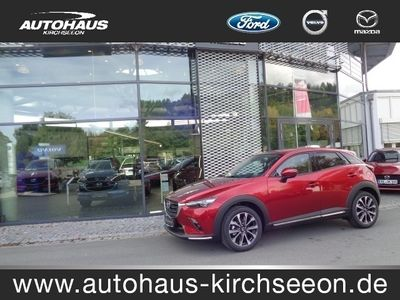 gebraucht Mazda CX-3 SKYACTIV-G 121 SPORTS-LINE Bluetooth Navi LED