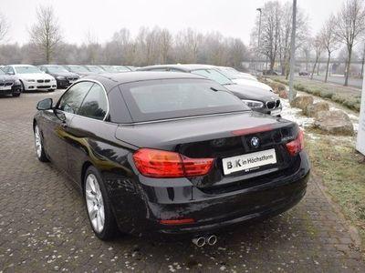 gebraucht BMW 420 d Cabrio (Navi Xenon Leder Klima)