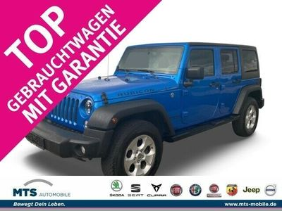 gebraucht Jeep Wrangler Unlimited Rubicon CRdi Euro 6