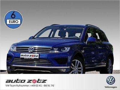 gebraucht VW Touareg V6 TDI 3.0 l 262 PS (Navi Xenon Leder Klima Luftfe