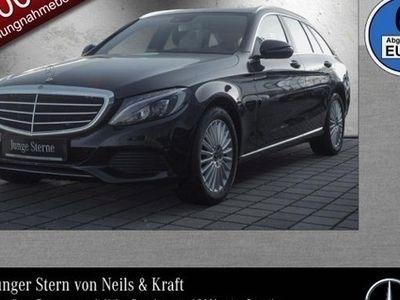 gebraucht Mercedes C220 d T-Modell Exclusive+LED+Navi+PDC