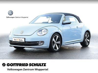 gebraucht VW Beetle Cabrio 1,6 TDI DESIGN DSG SHZ PDC VO HI MFA Design