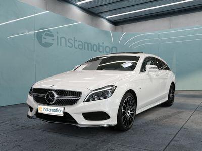 gebraucht Mercedes CLS350 Shooting Brake CLS 350d 4M AMG Line AHK Standhz Distr Multi