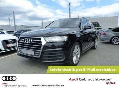 gebraucht Audi Q7 3.0TDI EU6 qu. S line *7-Sitze*PANO*NAVI*