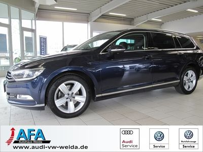 gebraucht VW Passat Variant Highline 2,0TDI Highl. DSG AHK,Dynaudio,Navi