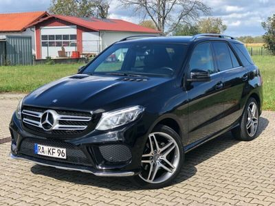 gebraucht Mercedes GLE350 GLE-Klassed 4Matic AMG PAKET PLUS