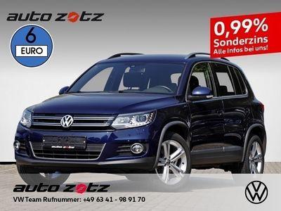 gebraucht VW Tiguan LOUNGE 1.4 TSI Navi Xenon AHK