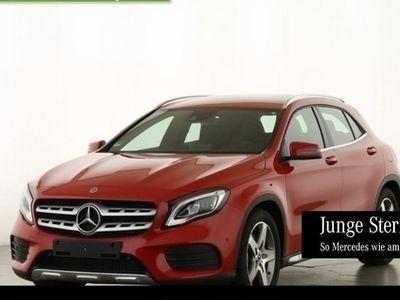 gebraucht Mercedes GLA220 4M AMG Navi LED SHZ DAB 18'' SpiegelP