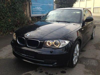 gebraucht BMW 123 Coupé d 1Hand KlimAut E5 BiXen eGSD PDC St/St SH WR als Sportwagen/ in Frankfurt