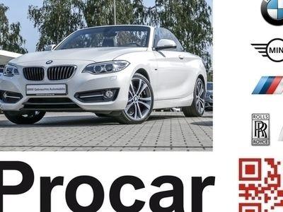gebraucht BMW 228 i Cabrio Sport Line