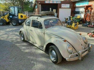 gebraucht VW Käfer 60er VWmit Faltdach u. Gepäckträger
