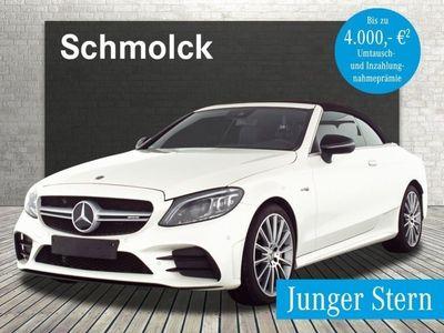 "gebraucht Mercedes C43 AMG 4M Cabrio HIGH-END/BURM/PERF/19""/SPUR/TOTW."