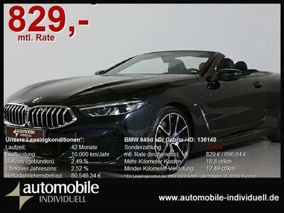 gebraucht BMW 840 d xDr Cabrio M Sportpaket Laser Live Cockpit
