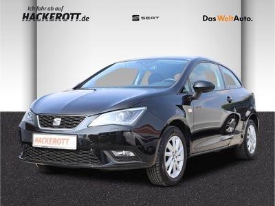 gebraucht Seat Ibiza SC Sun 1.4 16V Bi-Xenon Kurvenlicht PDCv+h LED-hinten Multif.Lenkrad RDC SHZ Temp