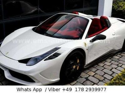 gebraucht Ferrari 458 Italia Spider Carbon Alcantara 1 Hand