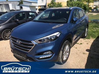 gebraucht Hyundai Tucson 1.6T Trend 2WD KLIMA / NAVI / AHK