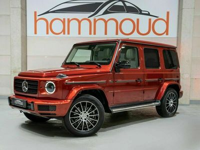 gebraucht Mercedes G500 AMG*DesignoSR2 *Night P. >Burmester>360>TOP