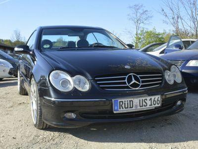 gebraucht Mercedes CLK320 CLK CoupeAvantgarde / LPG-Anlage